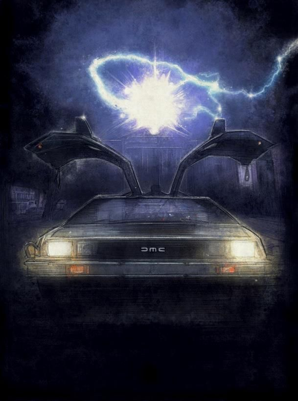 BACK TO THE FUTURE Art Does Not Need Roads - News - GeekTyrant, Go To www.likegossip.com to get more Gossip News!