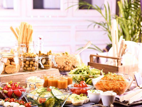 Buffet Campanile ©Charly Deslandes #restaurant #gastronomie