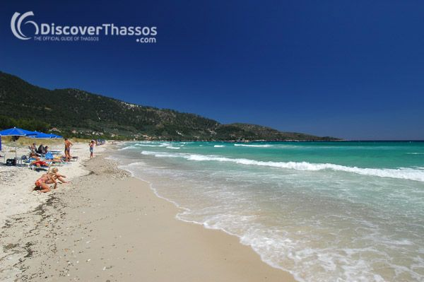 Golden Beach, #Thassos Island #Greece