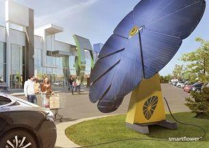 Smartflower POP-e, un innovador sistema fotovoltaico para la recarga de coches eléctricos