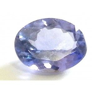 Tanzanite 1.03 ct oval cut 7.4x5.6 mm