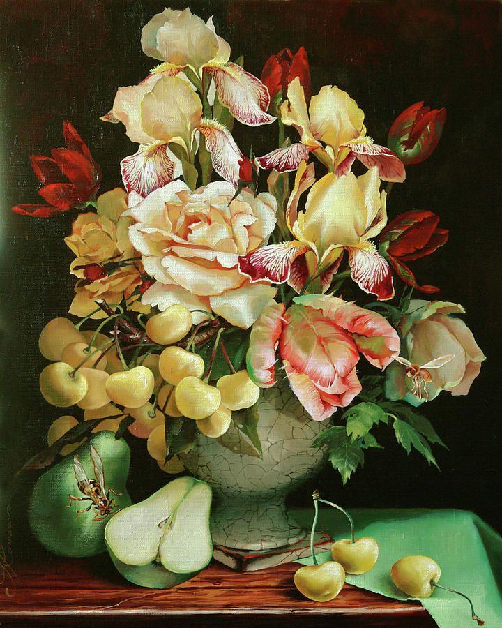 Ira Rom-Lorenz (b.1971) — Sweet Cherry (720x900):