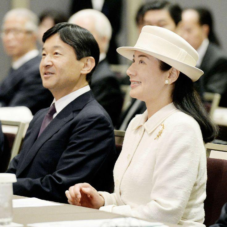 HIH Crown Prince Naruhito and HIH Crown Princess Masako of Japan.
