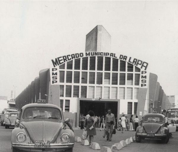 Mercado da Lapa - SP (1970)  foto Oswaldo Jurno, Estadão
