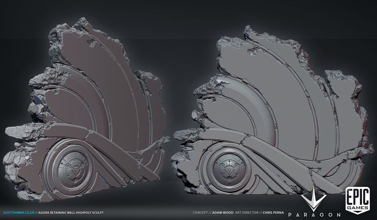 ArtStation - Paragon Organic Environment Assets, Scott Homer