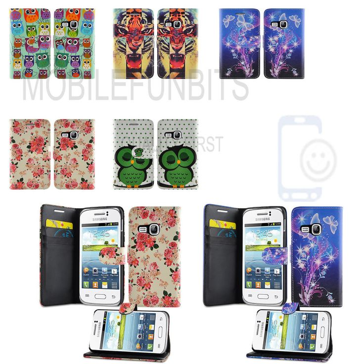 Leather Case Phone Cover Pouch for Samsung Galaxy Young GT-S6310L / GT-S6310N #UnbrandedGeneric