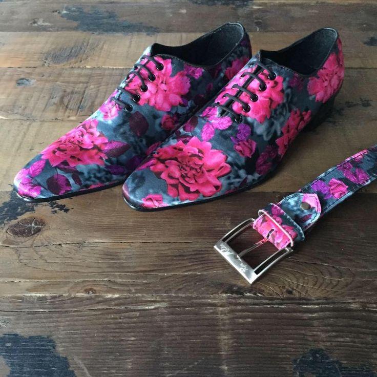 Altijd al unieke, aparte, kleurrijke en trendy designschoenen gewild?  Fantasy Ivonne, van Pepe Milan. Voor mannen met smaak!