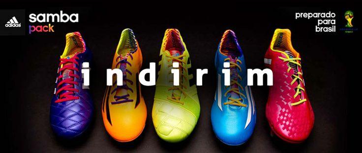 adidas samba pack koleksiyonunda %25 indirim! Ücretsiz kargo / Peşin fiyatına 9 taksit fırsatlarıyla... http://goo.gl/2jmrN6