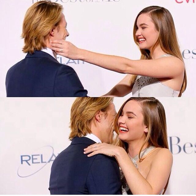 they just perf luke bracey and liana liberato the best