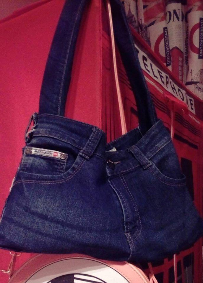 DIY Jean Bag