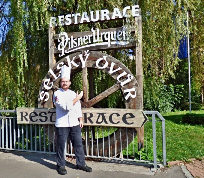 Martin Sosna - nový šéfkuchař Restaurace Selský Dvůr v Praze