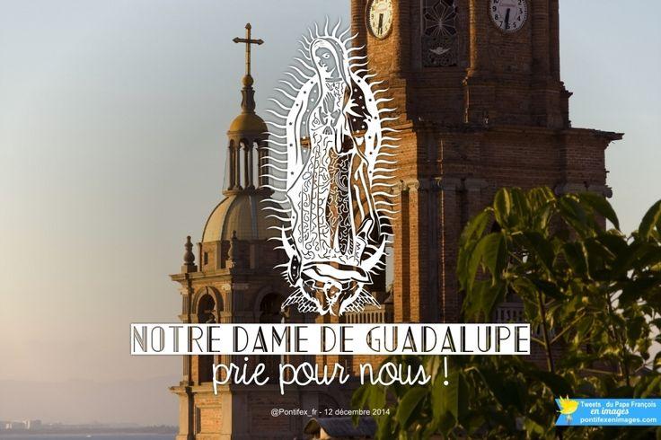 Notre Dame de Guadalupe, prie pour nous !