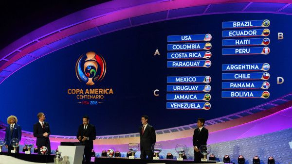 Copa America Euro 2016 schedules combined into one