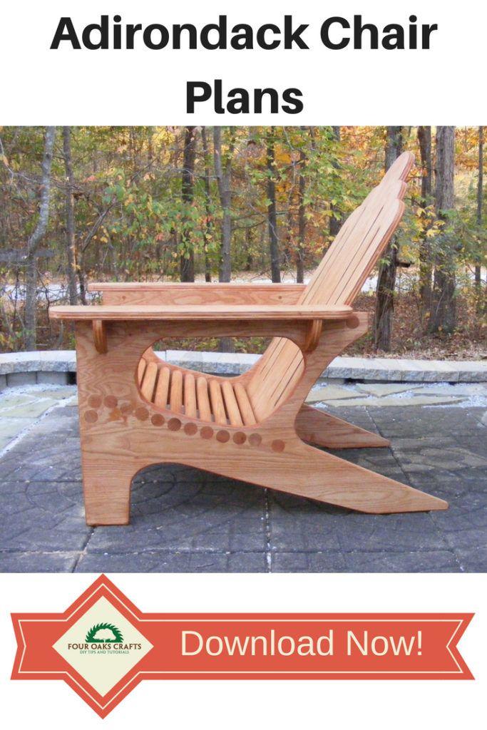 DIY Woodworking Ideas adirondack chair plans