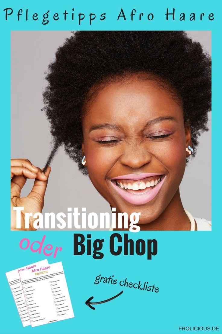 Hast du dein krauses Haar jahrelang geglättet und möchtest nun zurück zu deinen natürlichen Afro Haaren? Du hast zwei Möglichkeiten: Transitioning oder Big Chop. Für welche Methode entscheidest du dich?