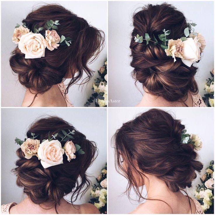 Boho style wedding hair                                                                                                                                                                                 More
