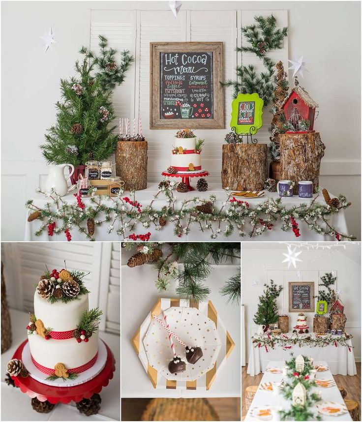 Cookies And Cocoa Christmas Holiday Party Ideas