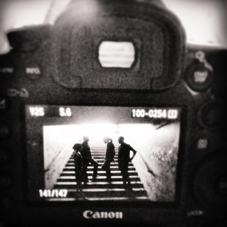 Shooting The Wonder-fall Quartet with its new members! By Yiannis Fudu, on May 24, 2013.