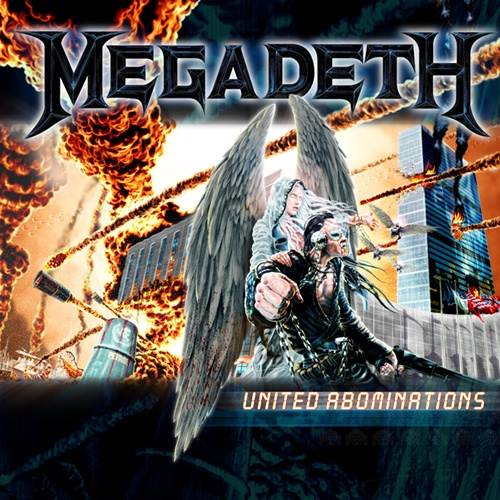 "Megadeth's UNITED ABOMINATIONS is probably the most lyrically poignant album in their catalog. Dave Mustaine delivers more ""political metal"" in this album than in all previous albums combined. Also, while I wouldn't call this a ""christian"" album, it is clear that Dave Mustaine's conversion to Christianity has had an impact on his writing. There are at least 3 songs on this album which have distinct christian/biblical references & ideology represented. No major duds to be found on the album…"
