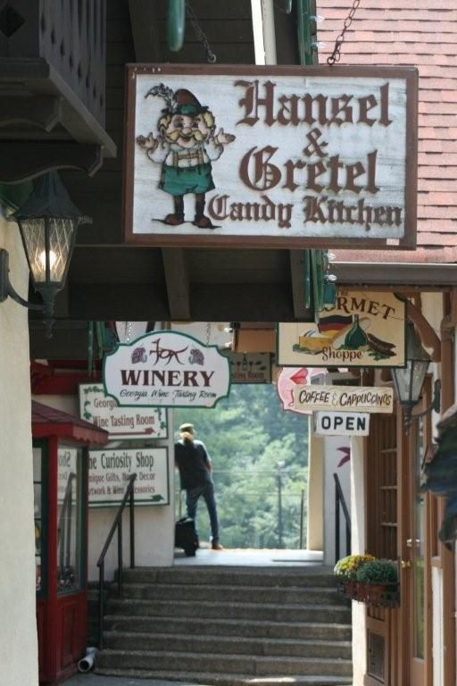 Stop by and watch as the ladies at Hansel and Gretel make candy. Don't forget to get some of their delicious fudge.