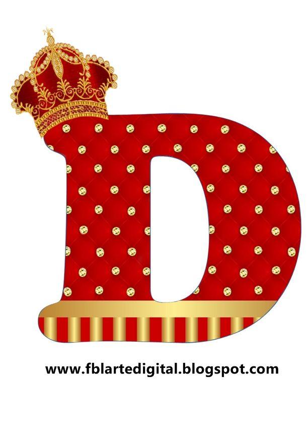 10 best letra do alfabeto tem realeza com as cores vermelho e alfabeto com tema realeza com as cores vermelho e dourado ol atendendo a stopboris Image collections