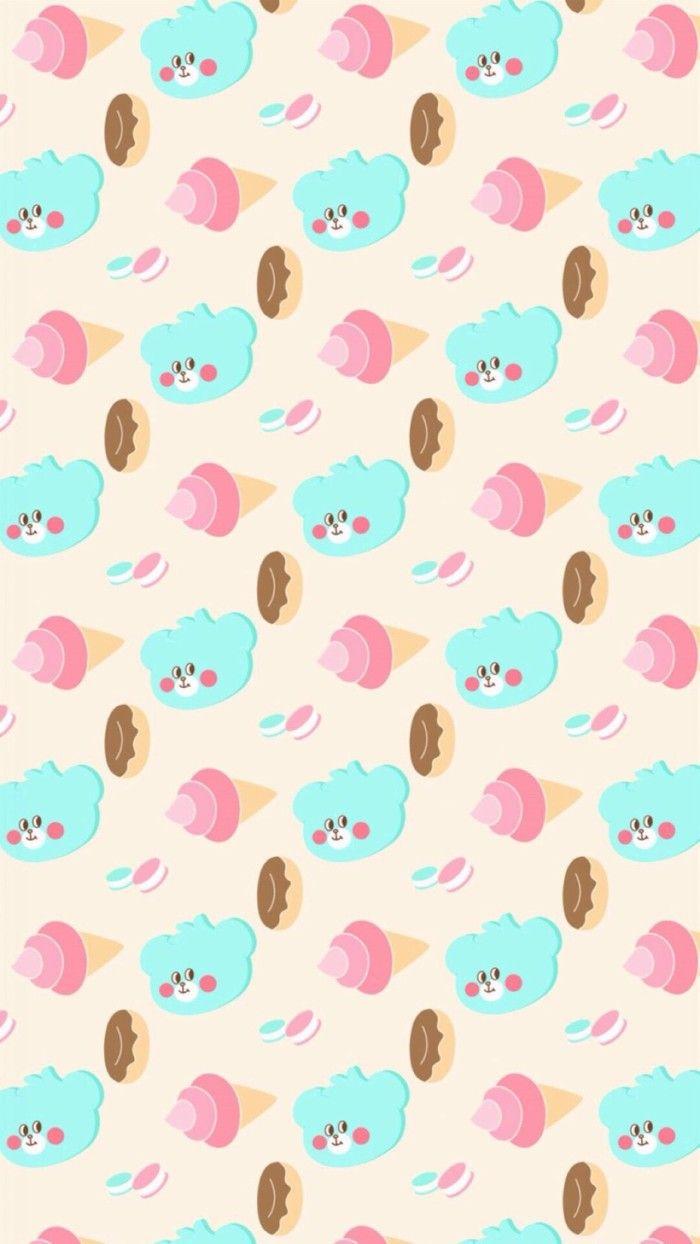 卡通 壁紙 iphone 平鋪 手繪 | Cellphone wallpaper, Cupcakes wallpaper, Cute wallpapers