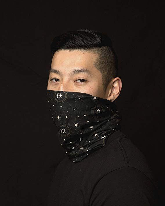 Multifunctional Headwear Seamless Bandanas for Dust Balaclava Festivals Sports Scarf Outdoors