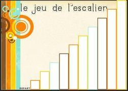 Le jeu de l'escalier de Brissiaud, plateau de jeu - Fiches de préparations (cycle1-cycle 2-CLIS)