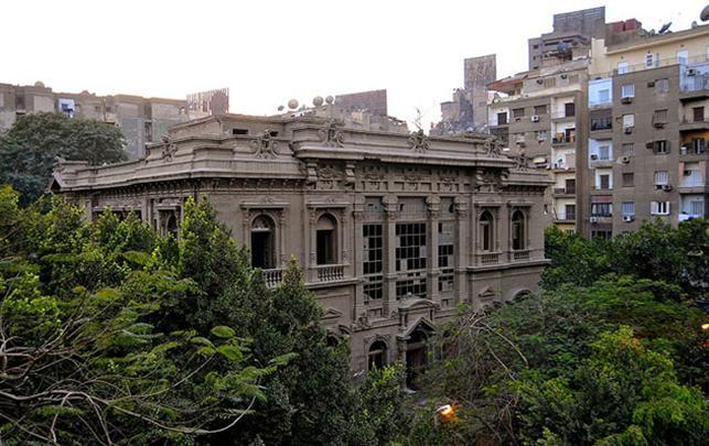 Prince Said Halim's Palace i Kairo i Egypten. Blev tegnet af Antonia Lasciac i 1899 og har stået tomt siden 2004. I frit forfald: Besøg verdens mest fascinerende og forladte bygninger