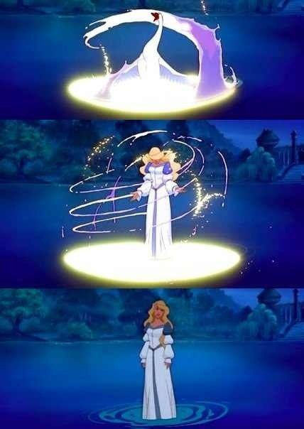 How I loved The Swan Princess.  Was it the magic?  Was it the shape shifting?
