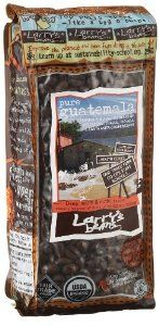 Larry's Beans Fair Trade Organic Coffee, Pure Guatemala, Whole Bean, 12-Ounce Bags (Pack of 3) by Larry's Beans at the Exotic Coffee Bean