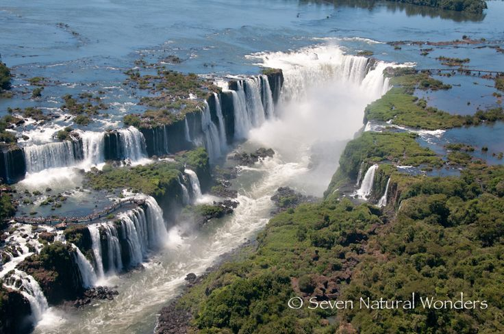 Iguazu Falls, from either Brazil or Argentina... I'm not fussy....