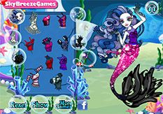 Juegos Monster High - Vestir Sirena Von Boo - Jugar Gratis Online
