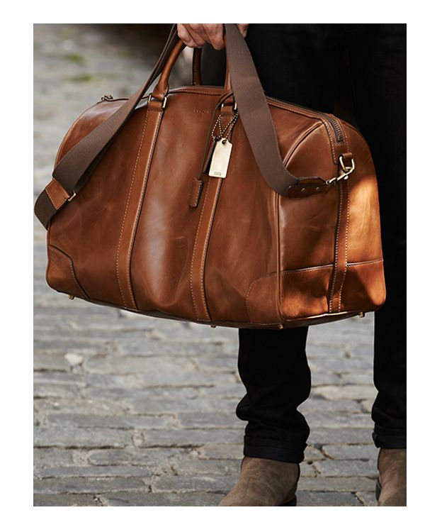 Travel Accessories for Men   Men's Travel Bags and Organizers at COACH www.hawkinsandbrimble.co.uk