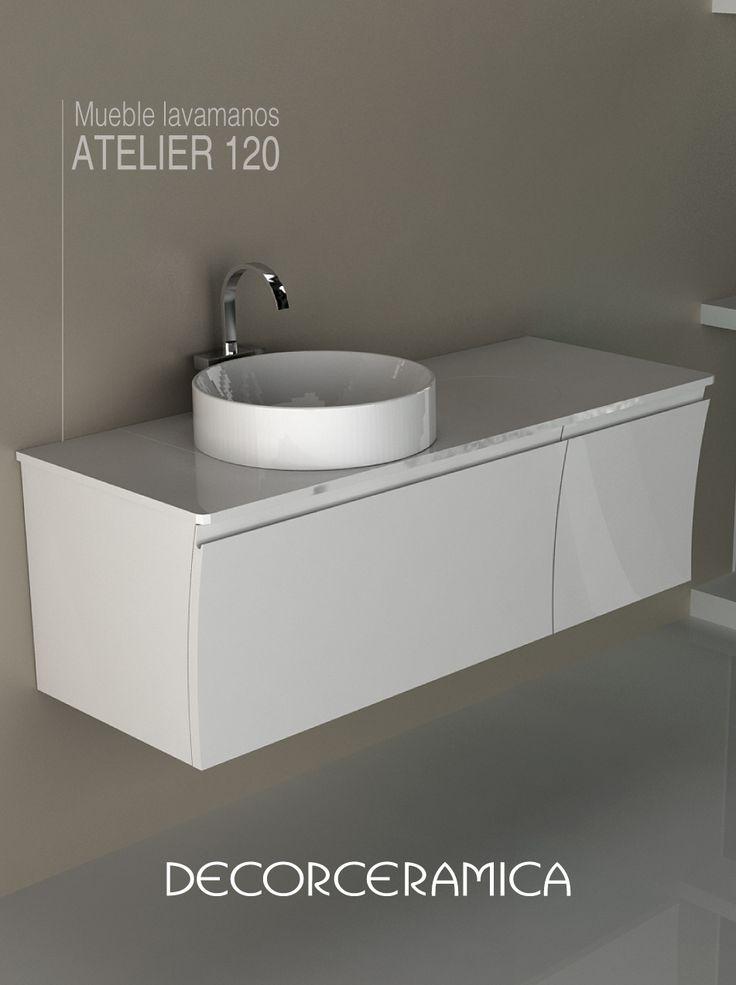 Un diseño curvilíneo de última tendencia, y todo el espacio que necesitas para dar orden a tus ambientes, encuéntralo en un mueble que además incluye el lavamanos.   Conócelo!!!