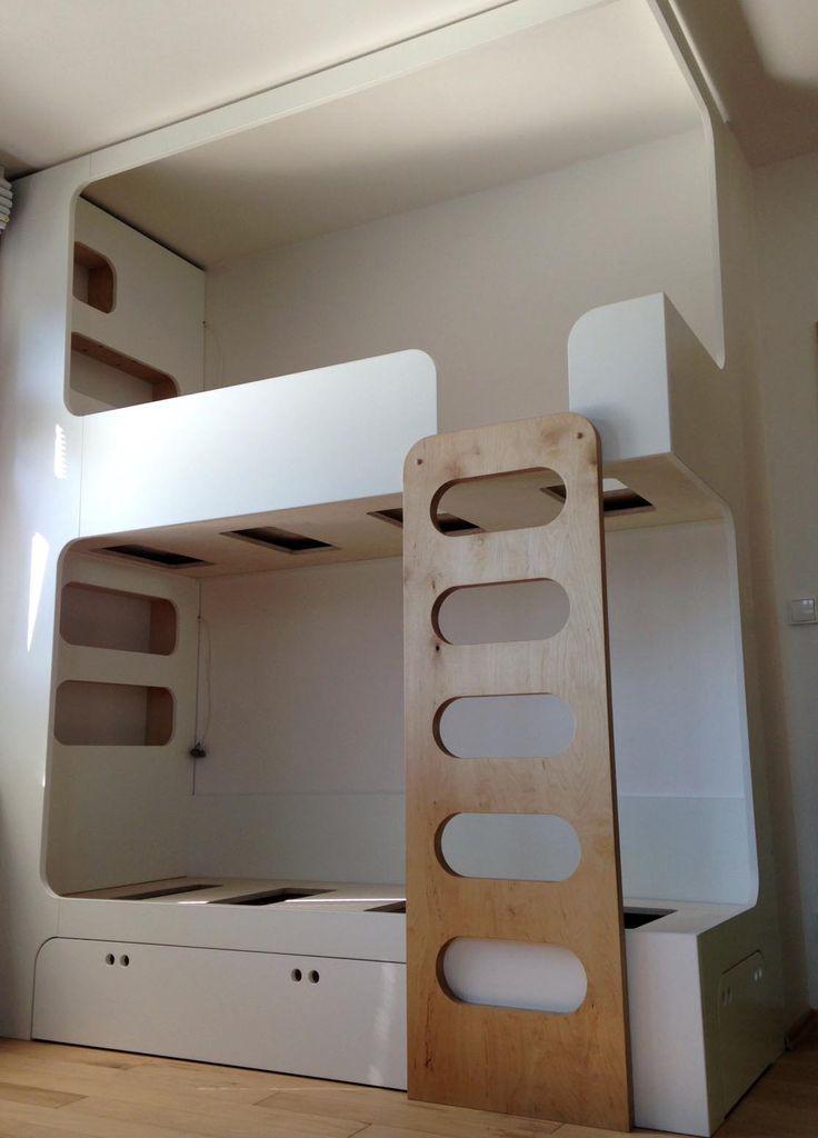 Double bed by DEVOTO.