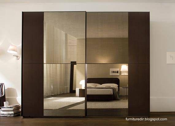 Modern bedroom furniture mueble armario de dormitorio - Muebles con puertas correderas ...