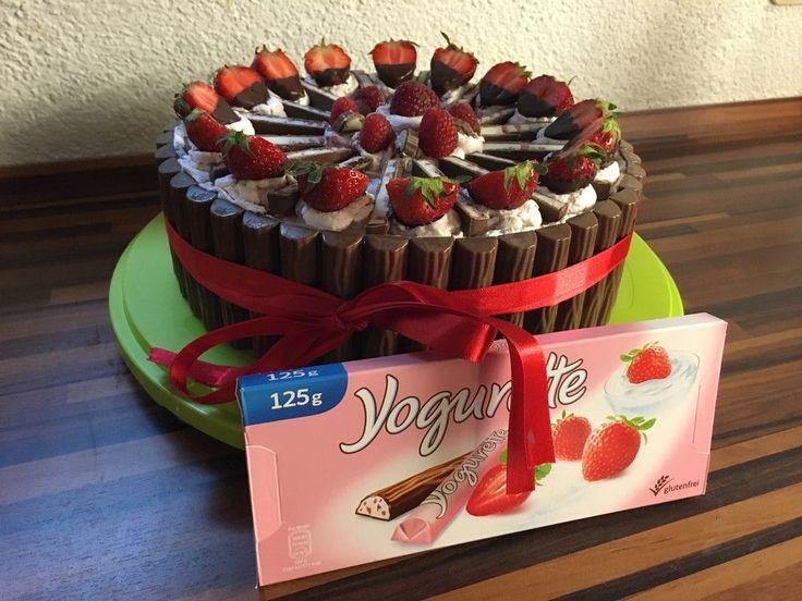 Yogurette-Torte, ein beliebtes Rezept aus der Kategorie Frühling. Bewertungen: 231. Durchschnitt: Ø 4,6.