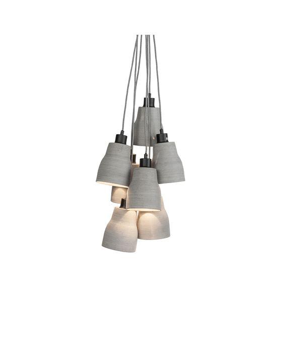Lampile suspendate din ciment sunt un nou trend in designul de interior  🆒 https://goo.gl/qPPTfx  #trend #concrete #designinterior