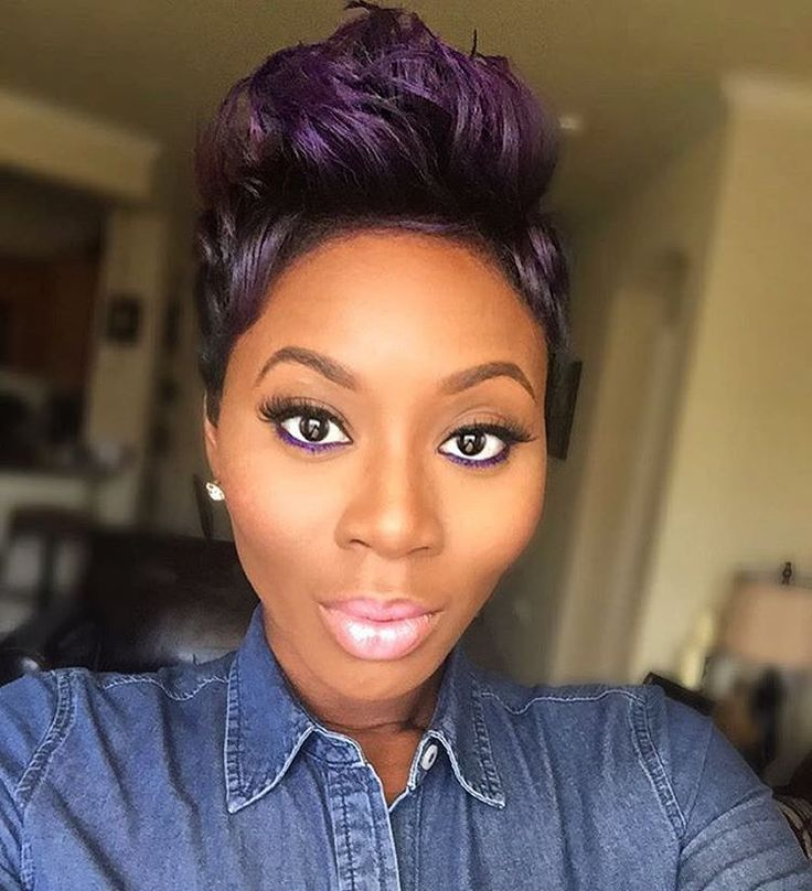 80 Upscale Short Haircuts For Black