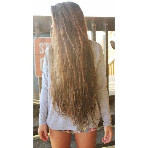 Natural Brown long hair