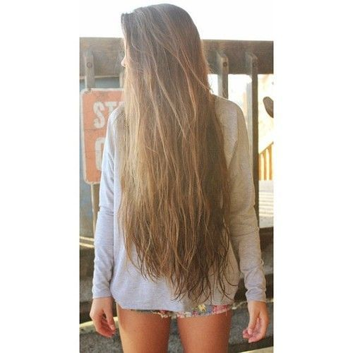 Natural Brown long hair