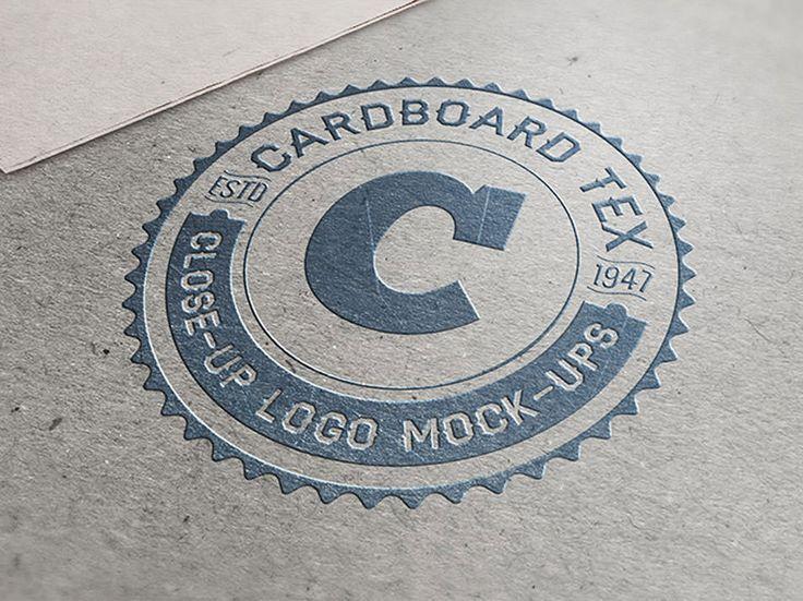 Close-Up Logo Mock-ups