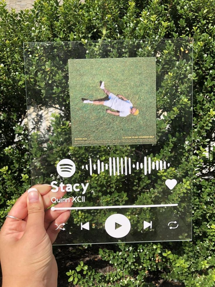Spotify Acrylic Music Sign multiple choices Etsy in 2020