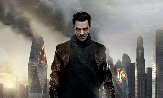 Benedict Cumberbatch blows up the Gherkin in new Star Trek Into Darkness poster