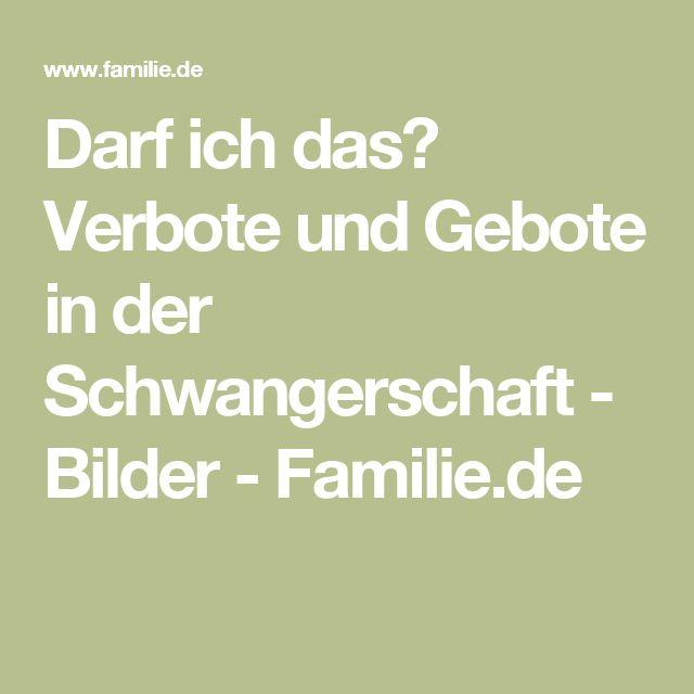 Darf ich das? Verbote und Gebote in der Schwangerschaft - Bilder - Familie.de
