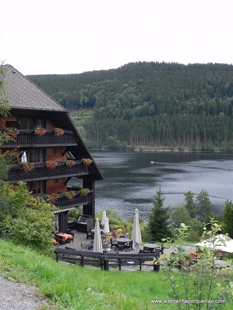Alemannenhof, Titisee, Black Forest - Germany....good place to stop for Black Forest cake