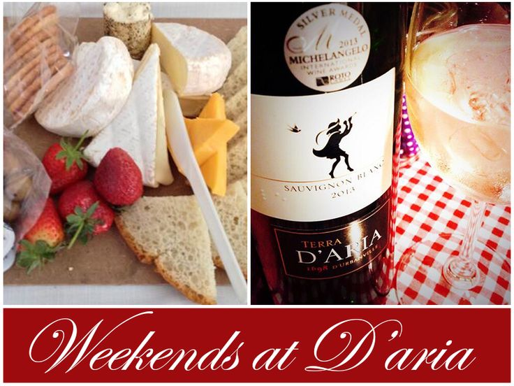 Weekends at D'aria, look something like this. Join us and enjoy brilliant wines, great company and fantastic hospitality.