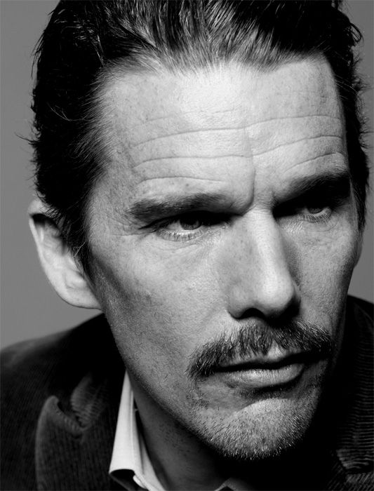 Ethan Hawke (1970) - American actor, writer and director. Photo by Peter Hapak