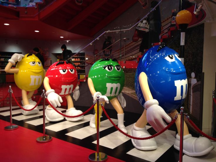 M&M'S shop in London